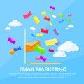 Digital Marketing Email Laptop Envelope Send
