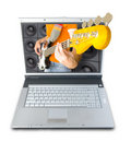 Digital Music Royalty Free Stock Photo