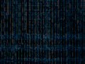 Digital networks blue maze pattern texture background Royalty Free Stock Photo