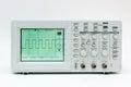 Digital oscilloscope Royalty Free Stock Photo
