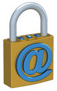 Digital Padlock Royalty Free Stock Photos