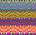 Digital Painting Beautiful Abstract Colorful Wavy Triangular Zigzag Texture Layer Pattern Background Royalty Free Stock Photo