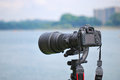 Digital SLR Royalty Free Stock Images
