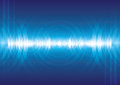 Digital sound wave Royalty Free Stock Photo