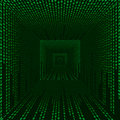 Digital space, matrix Stock Images