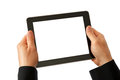 Digital tablet in hands Stock Photography