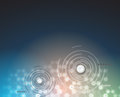 Digital technology world. Business virtual concept. Vector back
