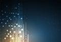 Digital technology world. Business virtual concept. Vector backg