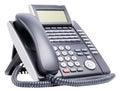 Digital telephone isolated Royalty Free Stock Photo