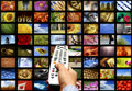 Digital television Royalty Free Stock Photo