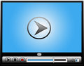 Digital Video Media Player Royalty Free Stock Photo