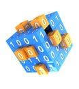Digitally cube Stock Photos