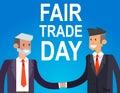 Digitally generated Fair Trade vector Royalty Free Stock Photo