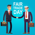 Digitally generated Fair Trade vector Royalty Free Stock Photo