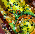 Digitaly created abstract background art