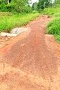 Dilapidated road Stock Photo