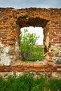 Dilapidated stud farm 19th century Royalty Free Stock Photo