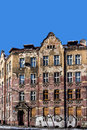 Dilapidated tenement in the city of katowice silesia region poland Royalty Free Stock Photos