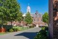 Dillon Fieldhouse on the territory of Harvard University Royalty Free Stock Photo