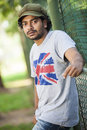 Dilum buddhika is a new actor in srilanka news paper photoshoot at colombo Stock Photos