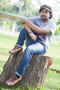 Dilum buddhika is a new actor in srilanka news paper photoshoot at colombo Royalty Free Stock Image