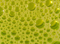 Diluted detergent bubbles in glass Royalty Free Stock Photos
