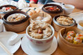 Dim Sum is a Chinese-style food. A popular dish to eat in the morning Royalty Free Stock Photo