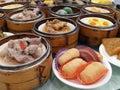 Dim Sum in Guangzhou Royalty Free Stock Photos