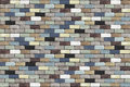 Dimmed color background with brick walls Royalty Free Stock Photo