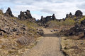 Dimmuborgir, Iceland Royalty Free Stock Photography