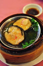 Dimsum chinese food for teatime or appetizer Stock Photos