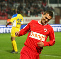 Dinamo Bucharest - Slatina Stock Photos