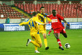 Dinamo Bucharest - Slatina Stock Photography