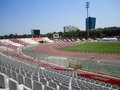 Dinamo bucharest stadium romania inside of Royalty Free Stock Images