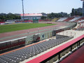 Dinamo bucharest stadium romania inside of Stock Image
