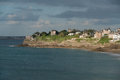 Dinard brittany panorama famous holiday destination in Royalty Free Stock Photos