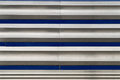 Diner exterior an old featering metal siding pattern for design Royalty Free Stock Photo