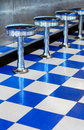 Diner Stools Royalty Free Stock Photo