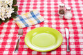 Diner table Stock Images
