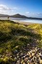 Dingle beach kerry county ireland Royalty Free Stock Photos