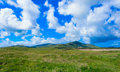 Dingle landscape grass sky and hills Royalty Free Stock Images