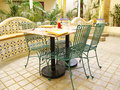 Dining Area Royalty Free Stock Photo