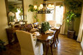 Dining room 1822 Stock Photo