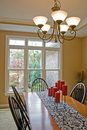 Dining Room Stock Photography