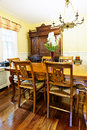 Dining room interior Royalty Free Stock Photos