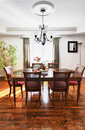 Dining room interior Stock Photo