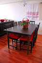 Dining room interior Royalty Free Stock Photo