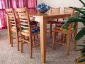 Dining Room Table Royalty Free Stock Photo