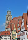 Dinkelsbuhl is old franconian town one of the best preserved medieval urban complexes in germany Stock Photos