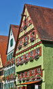 Dinkelsbuhl old franconian town one best preserved medieval urban complexes germany Royalty Free Stock Image